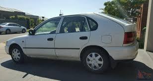 corolla csi seca 1999 5d liftback manual 1 6l no reserve in vic