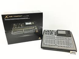 Midas 32 Behringer X32 Compact Digital Mixer Used Model