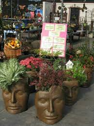Large Head Planters The 31 Best Images About Planters Shaped Like Heads On Pinterest