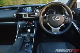 lexus is350 f sport seats 2014 lexus is 350 f sport review video performancedrive