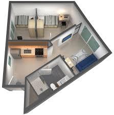 bedroom floorplan ucsb u0026 sbcc 2 bedroom 1 bath student housing with ocean view