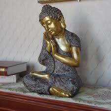 36 cm resin buddha statue for home decor sleeping buddha sculpture