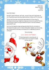 personalized letter from santa 26 images of thank you letter from santa template leseriail