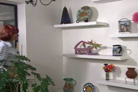 How To Make Floating Shelves For A Dining Room  Ron Hazelton - Floating shelves in dining room
