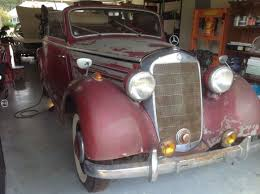 1950 mercedes for sale 1950 mercedes 170s cabriolet b no reserve for sale photos