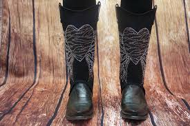 transform your cowboy boots with bootroxx boot covers