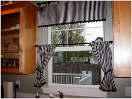 Modern Curtain Ideas by Kitchen Stripe Pattern Modern Curtain Modern Kitchen Curtains