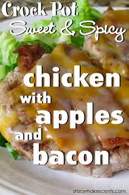 an apple a day for dinner crock pot chicken with apples and