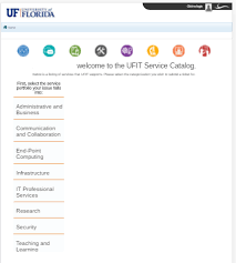 Uf Computing Help Desk Myit Campus Connect Ufit Service Catalog