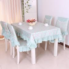 beautiful table cloth design pastoral beautiful rose design table cloth set chair cover cusion
