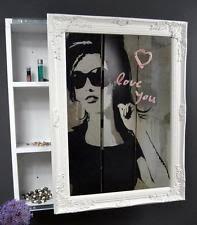 spiegelschränke fürs badezimmer spiegelschränke im landhaus stil fürs badezimmer ebay
