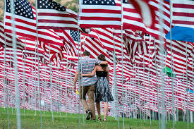 911 Flag Photo News In Pictures News The Times