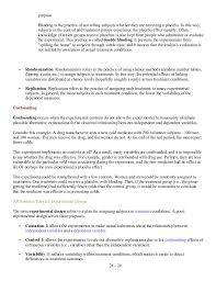 What Is Blinding In Statistics 131149054 Ap Statistics Study Guide