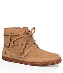 ugg kilmer lace up leather ugg s boots booties dillards