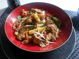 cuisine asiatique poulet cuisine asiatique poulet pad à ma façon
