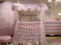 round baby cribs with canopy