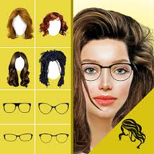 try hairstyles on my picture hairstyle changer app virtual makeover women men android apps