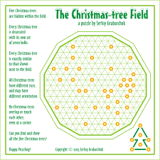 Decorate Christmas Tree Worksheet by Age Of Puzzles The Christmas Tree Field