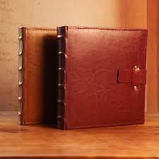 high capacity photo albums aliexpress buy photo album photo album leather large