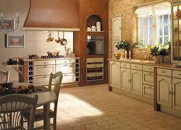 decoration cuisine ancienne cuisine style cagne couleurs mobilier déco ooreka