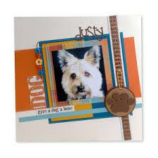 Dog Scrapbook Album Dog Scrapbook Page Ideas Sizzix Com Give A Dog A Bone