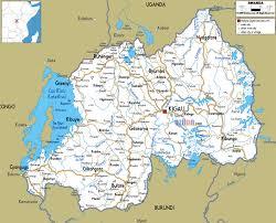 Burundi Map Map Of Rwanda