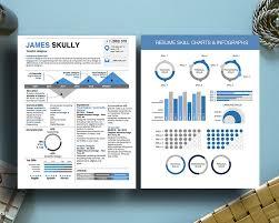 Entrepreneur Resume Infographic Resume Skills Chart Infographic Milennial Resumes