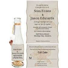 wedding invitations in a bottle wedding invitations messageinabottle