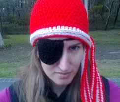 eye patch crochet tutorial youtube
