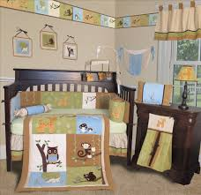 Monkey Crib Bedding Sets Baby Nursery Captivating Baby Nursery Room Decoration Using