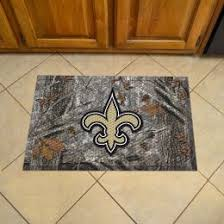 New Orleans Saints Rugs New Orleans Saints Welcome Mats Sports Team Logo Doormats Nfl Mats
