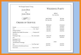 wedding program templates free free downloadable wedding program template that can be printed