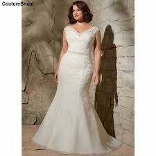 Wedding Dress For Curvy Gown Silk Picture More Detailed Picture About Lace Mermaid Plus