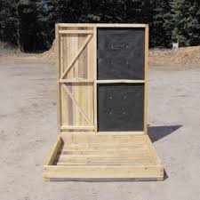 Hunting Ground Blinds On Sale Bow U0026 Rifle Hunting Box Blinds Productive Cedar Products