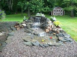 Waterfall Ideas For Backyard Garden Ponds And Waterfalls Ideas Backyard Ponds And Waterfalls