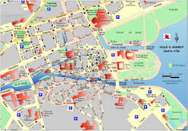 France Cities Map by Annecy City Center Map