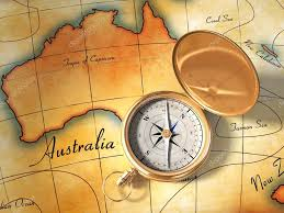 Compass Map Old Map And Compass U2014 Stock Photo Andreus 2014311