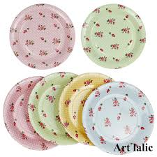 wedding party plates colorful flower paper plates for birthday wedding