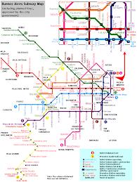 Light Rail Map San Jose by Urbanrail Net U003e South America U003e Argentina U003e Buenos Aires Subte Metro