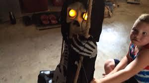 skelly bones spirit halloween little skully bones review youtube