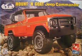 1971 jeep commando amt mount u0027n goat jeep commando truck kit news u0026 reviews model