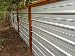 best 25 metal fence ideas on pinterest corrugated metal fence
