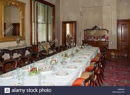 Mansion Dining Room by Dining Room In Barwon Park Mansion Winchelsea Victoria