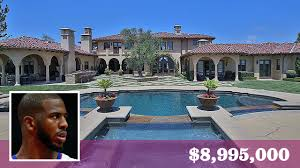 Calabasas Ca Celebrity Homes by L A Clippers U0027 Chris Paul Buys A 9 Million Home In Kardashian