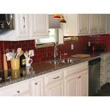red glass tile kitchen backsplash splendid red tile backsplash 87 red tile backsplash home depot