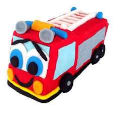 fire engine cake kit boys birthday cake recipe kit diy decorating
