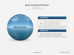 Blue Ocean Strategy Powerpoint Blue Ocean Strategy Slideshop Free Slideshop Free