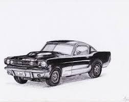 1967 Black Mustang 1967 Ford Mustang Etsy