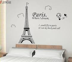 stickers muraux citations chambre clstrose vinilos paredes tour stickers muraux citations
