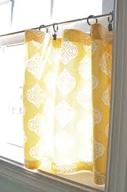 yellow kitchen curtains home decor yellow kitchen cafe curtains choosing perfect kitchen cafe